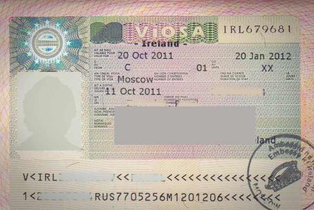 Виза в Ирландию для россиян: особенности визового режима