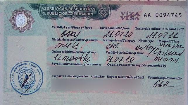 Виза в Азербайджан: визовый режим в стране и Баку для русских
