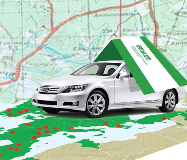 Грин-карта на автомобиль при поездке в Европу: все особенности