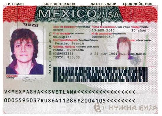 Виза в Мексику для россиян: нужна ли она, особенности, электронная