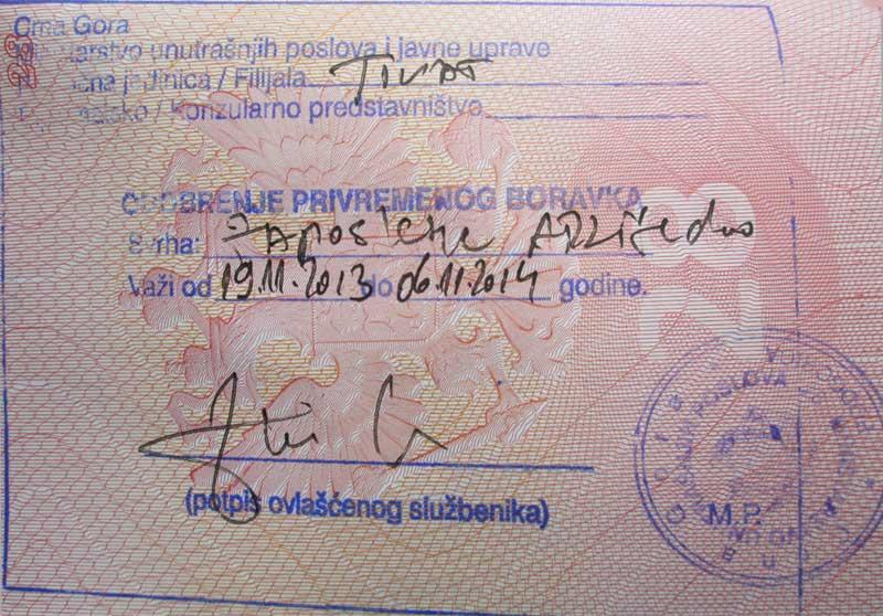 Нужна ли виза русским гражданам для въезда в Черногорию?